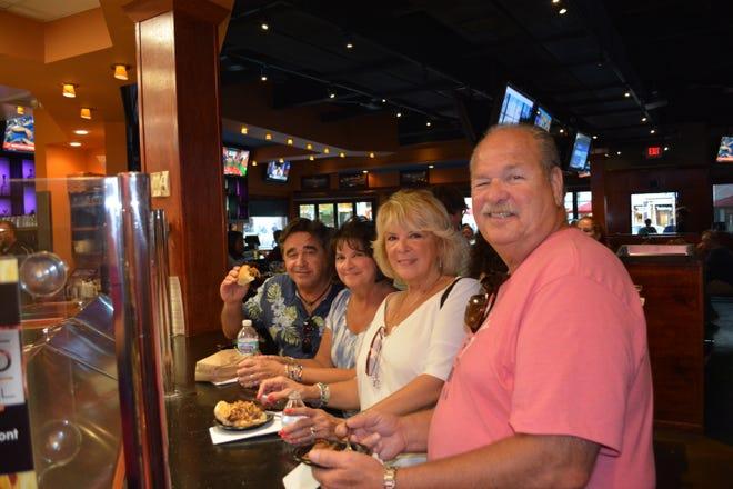 Penn-Taste-Tic patrons enjoy Ironwood Grill