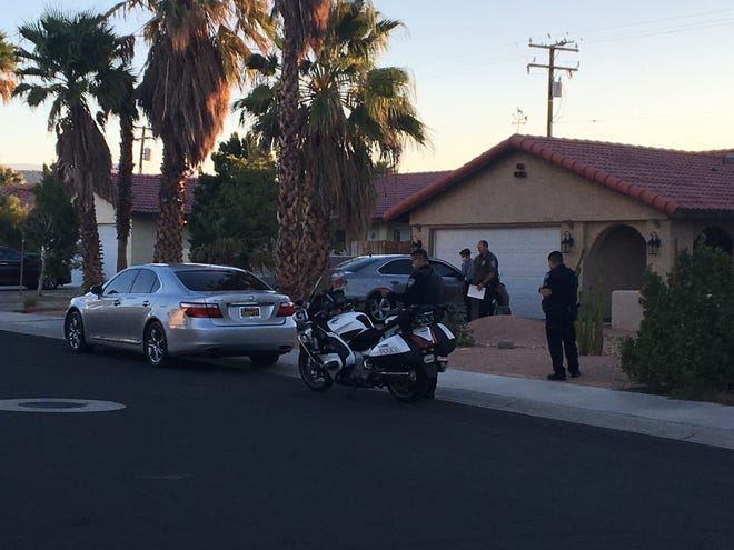 A driver fled after striking a pedestrian and leaving the victim seriously injured and forcing police to shut down a portion of Vista Chino in Palm Springs.