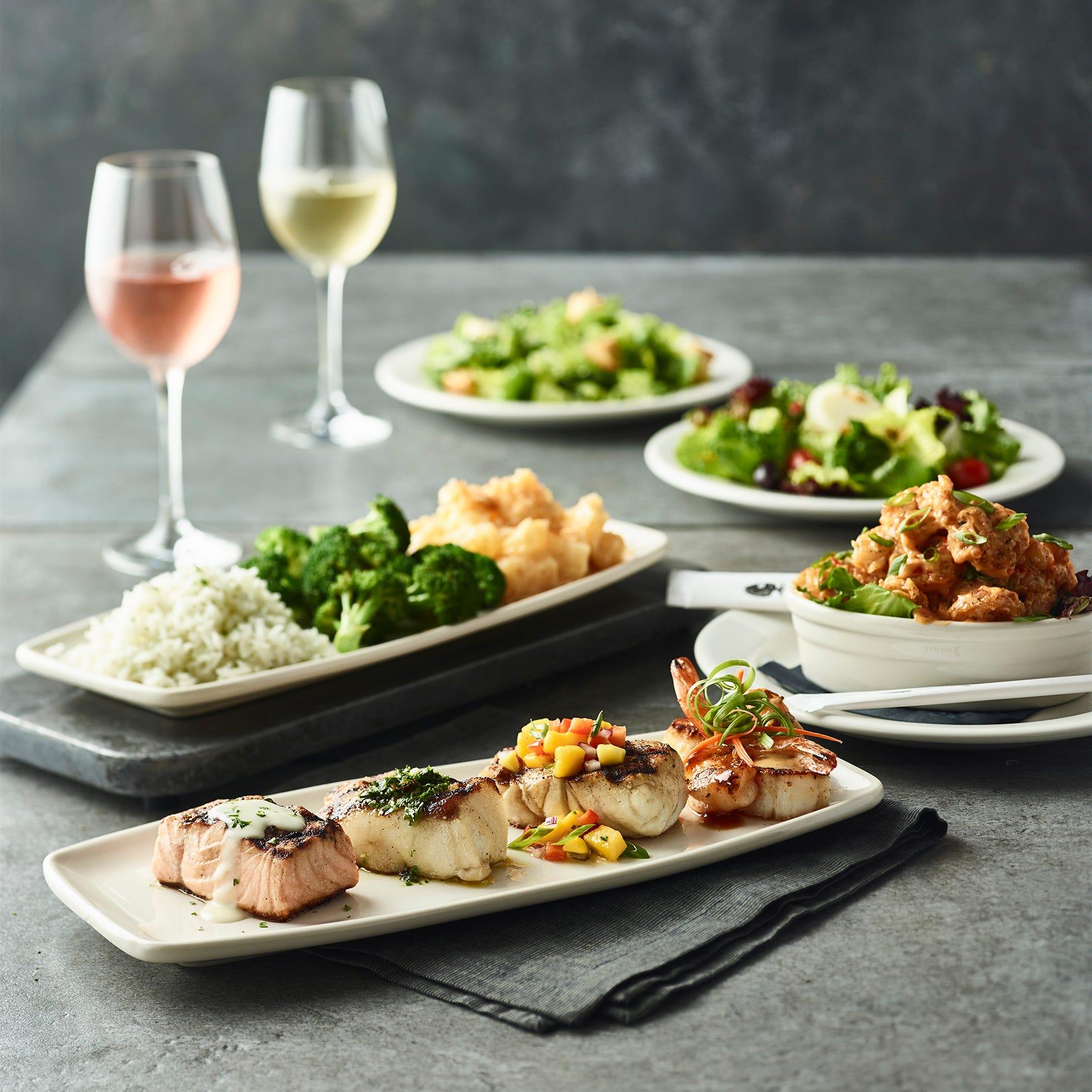 Bonefish Grill serving up'OMG' dinnerfor 2inSept.  Table Settings