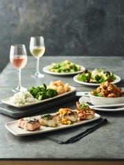 The OMG (Ocean Mixed Grill) four-course dinner for two is available through September at Bonefish Grill.