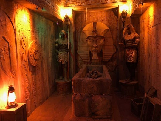 The Mummy Escape room at Escape Westgate.
