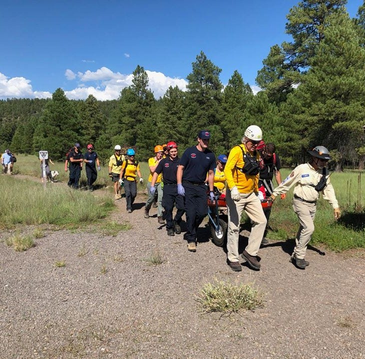 12-year-old injured after falling 20 feet while rock climbing in Flagstaff