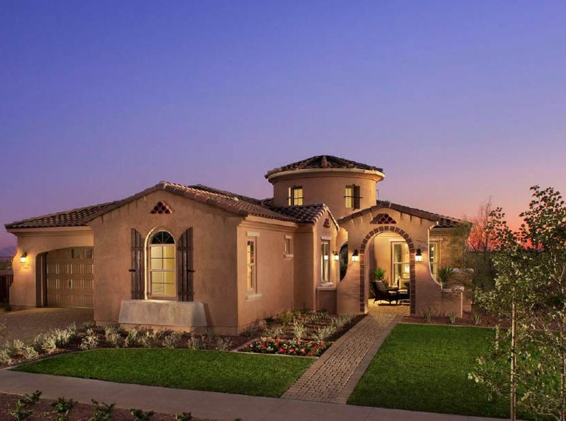 Victory at Verrado offers homes from multiple builders.