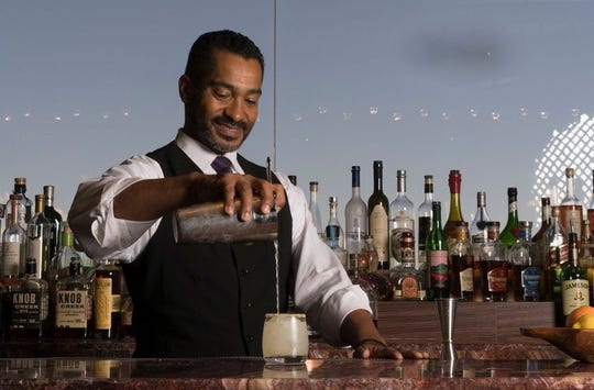 Robert Porter is the lead mixologist at J&G Steakhouse at the Phoenician Resort in Phoenix.