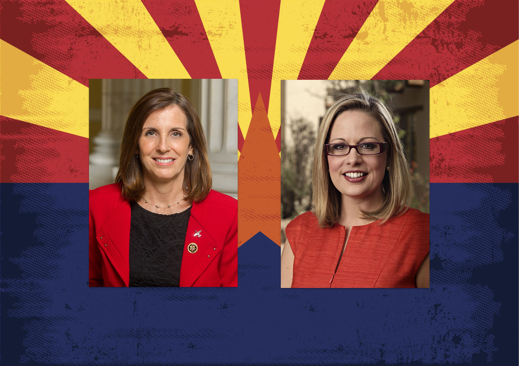 Arizona Senate election: Where Martha McSally and Kyrsten Sinema stand on border security