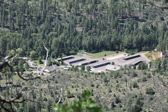 Canyon Creek Hatchery east of Payson on the Mogollon Rim supplies 20 percent of the game trout in Arizona.