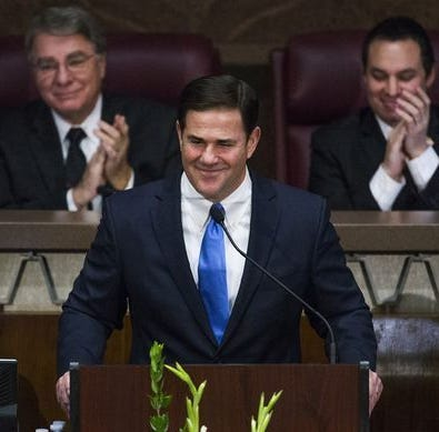 Gov. Doug Ducey is finally backing charter school reform? Now, that's funny