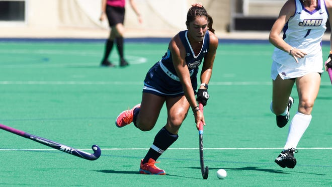 Palmyra grad Erin Huffman has been the  key to the Old Dominion field hockey team's offense so far this season.