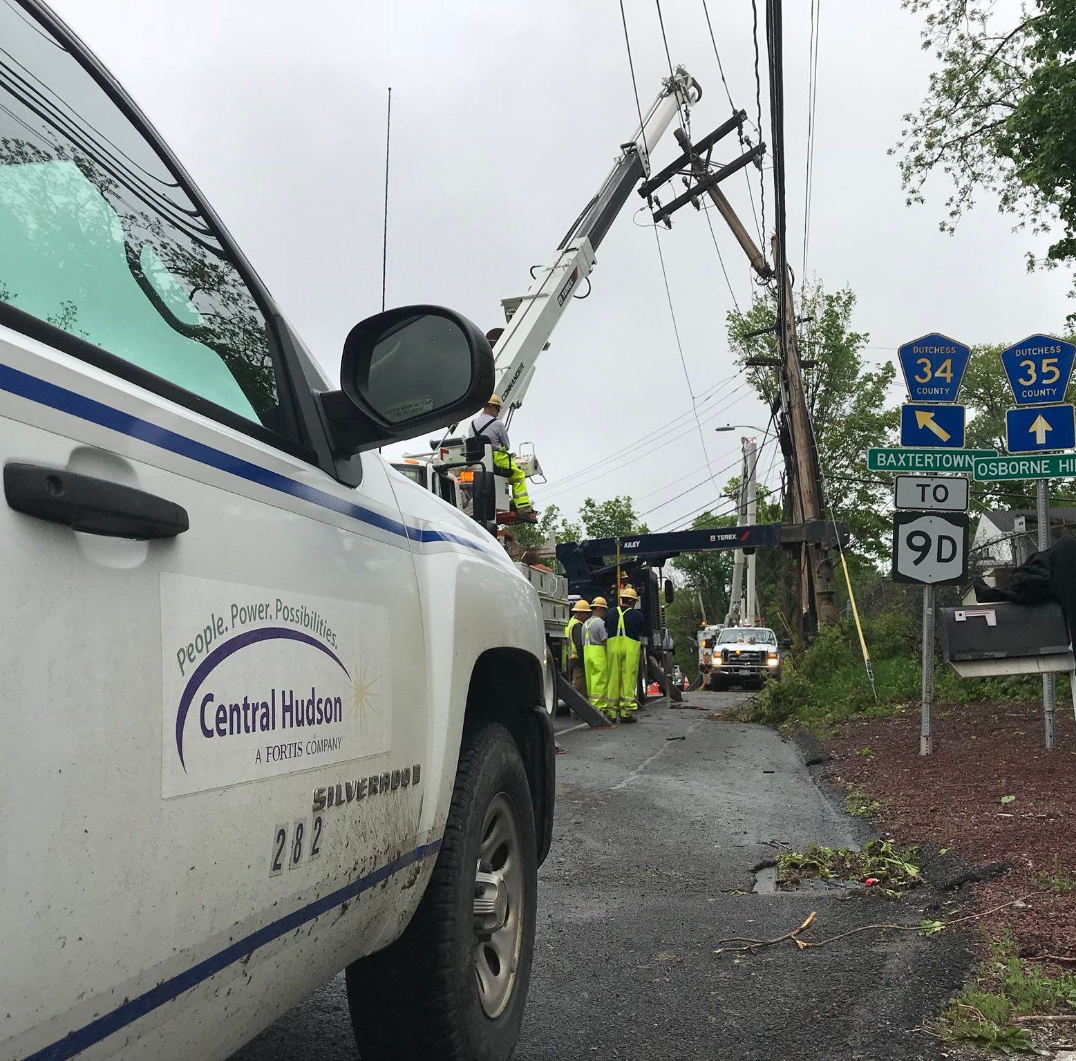 Wind advisory issued for Dutchess, Ulster Monday; 290 without power