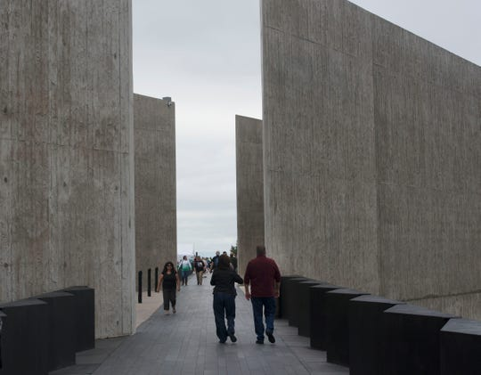 The Flight 93 National Memorial's 17th Annual September 11 ceremony is being held at the Memorial Plaza in Shanksville, Pa.