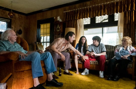 """From left, Bruce Dern, from left, Matthew McConaughey, Bel Powley, Richie Merritt and Piper Laurie in a scene from """"White Boy Rick."""" The movie opens Sept. 13 at Frank Theatres Queensgate Stadium 13 and R/C Hanover Movies."""