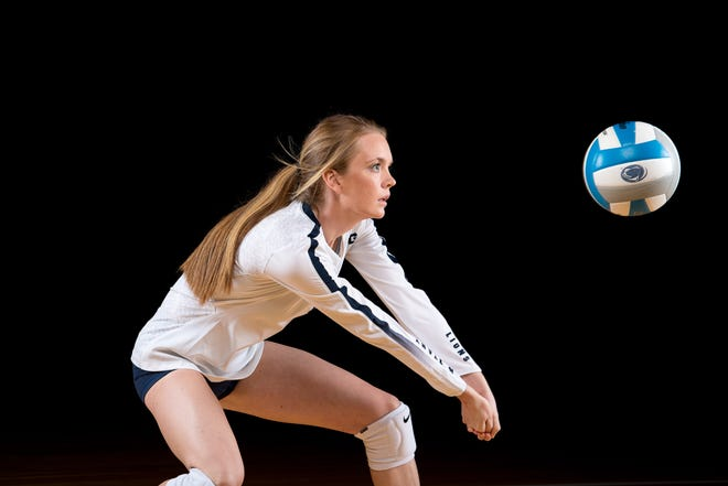 Dover High School graduate Bayleigh Hoffman is a fifth-year senior defensive specialist for the Penn State women's volleyball team.