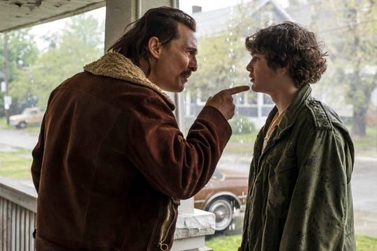"""Matthew McConaughey, left, and Richie Merritt star in """"White Boy Rick."""" The movie opens Sept. 13 at Frank Theatres Queensgate Stadium 13 and R/C Hanover Movies."""