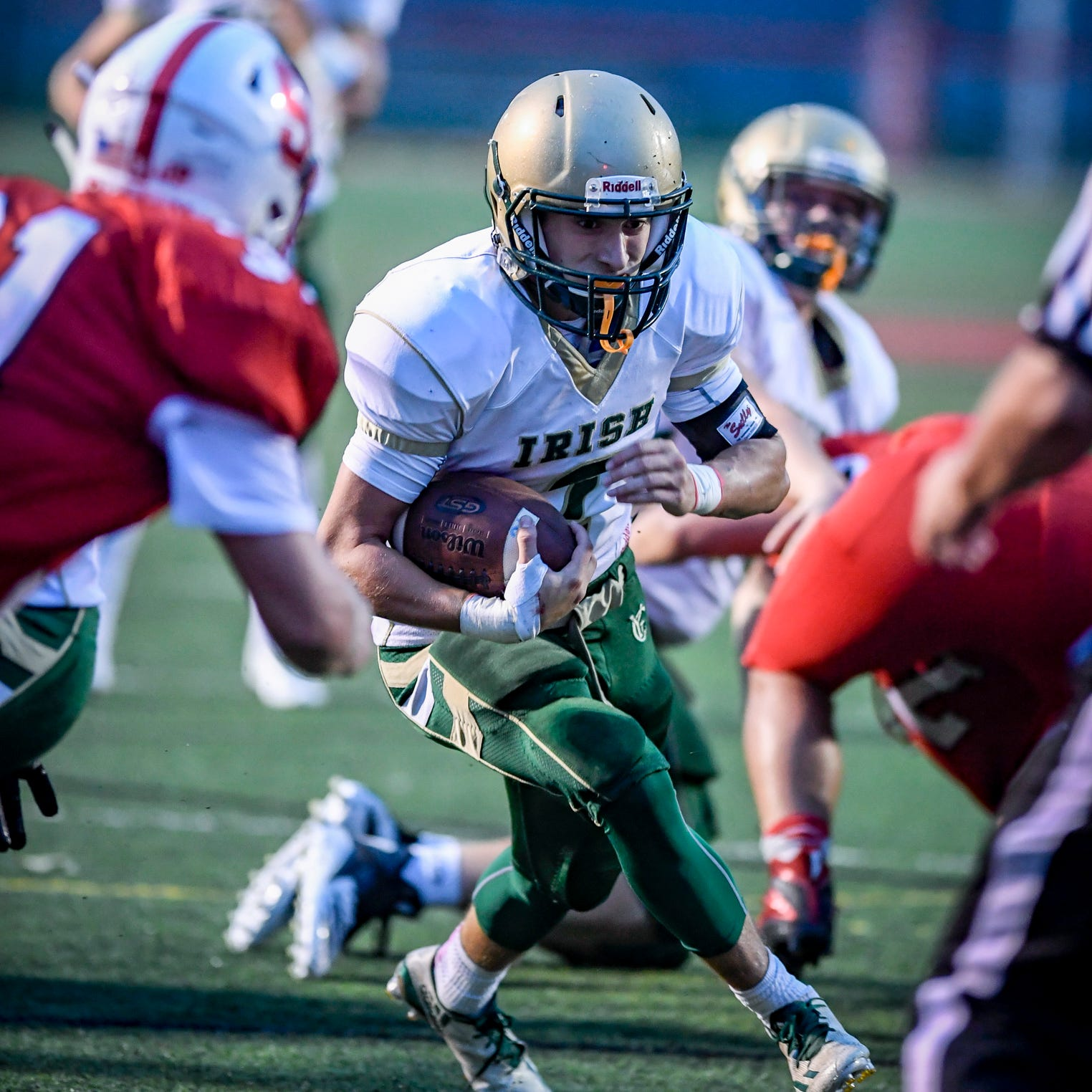 After big win vs. Delone, York Catholic now ranked among state's best football teams