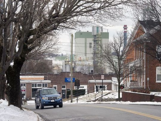 Glatfelter paper mill has a long history in Spring Grove. It was sold to a private investment firm and remains the borough's largest employer.