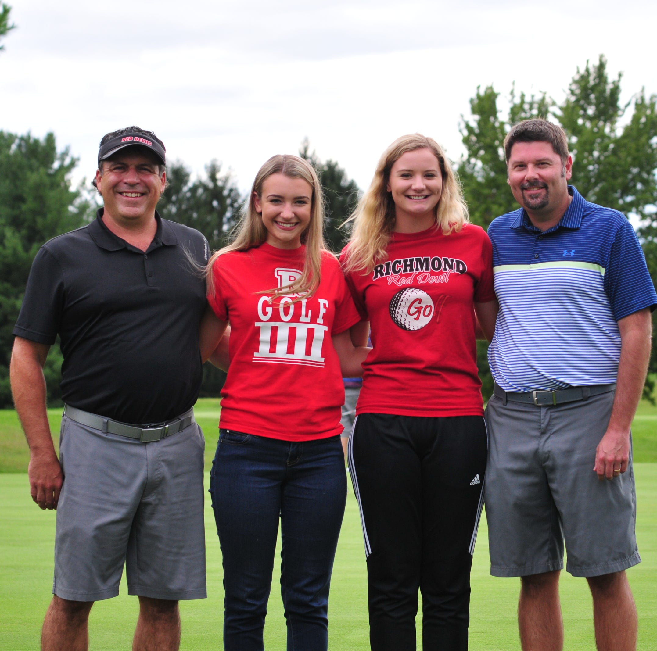 Fathers' lessons lead undefeated Richmond golf team