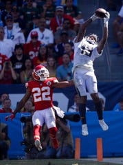 Los Angeles Chargers wide receiver Keenan Allen torched the Bills last season for 12 catches, 159 yards and two touchdowns in a 54-24 victory.