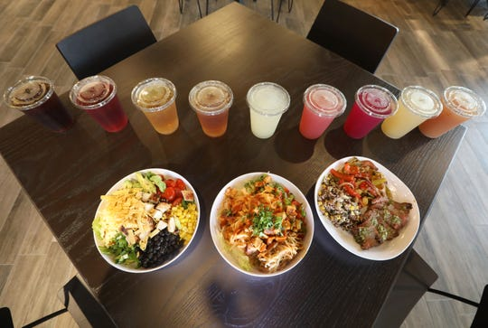 Healthy eating, and drinking at the new CoreLife Eatery in Brighton, Tuesday, Sept. 11, 2018.