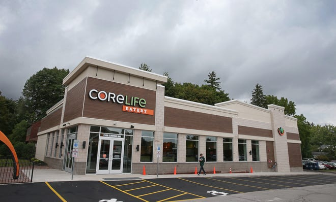 The new CoreLife Eatery in Brighton on Tuesday, Sept. 11, 2018. The restaurant opened in the former Bagel Bin Cafe at 12 Corners in Brighton.