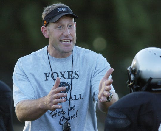 Scott Gragg, a former NFL football player, also coached the Silverton High School football team and is now the athletic director at McNary High School.