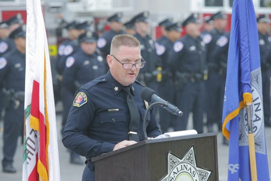 Salinas Fire Chief Jeff Johnson speaks about how the aftermath of 9/11 still lingers, including those first responders sickened by the smoke and debris in the aftermath.