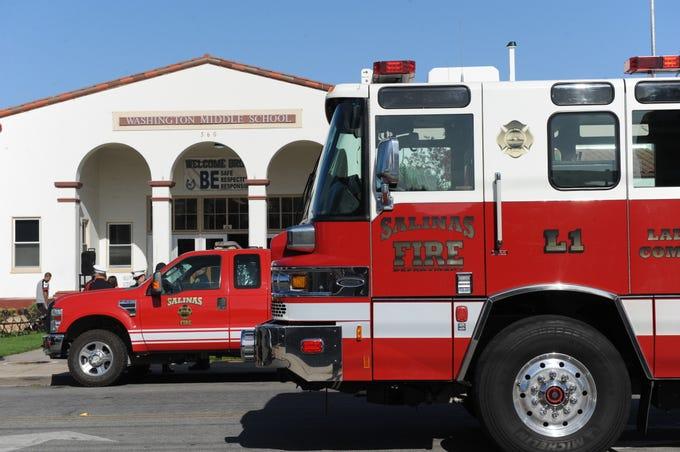 Photos Salinas Pays Tribute To 9 11 Victims