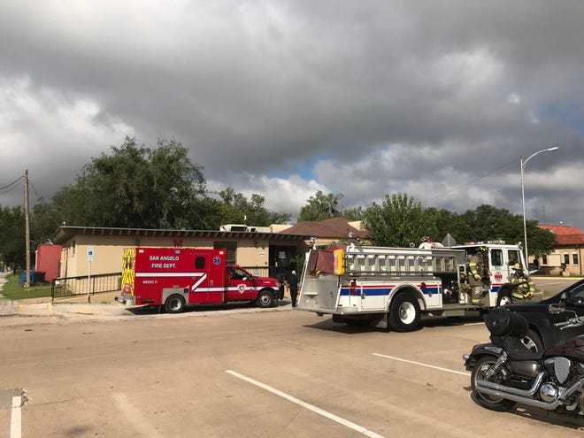 San Angelo emergency workers responded to the report of a fire in the basement of City Hall, 72 W. College Ave., about 10:10 a.m. Tuesday, Sept. 11, 2018.
