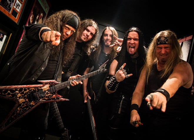 Vicious Rumors will play at Bigs on Friday.