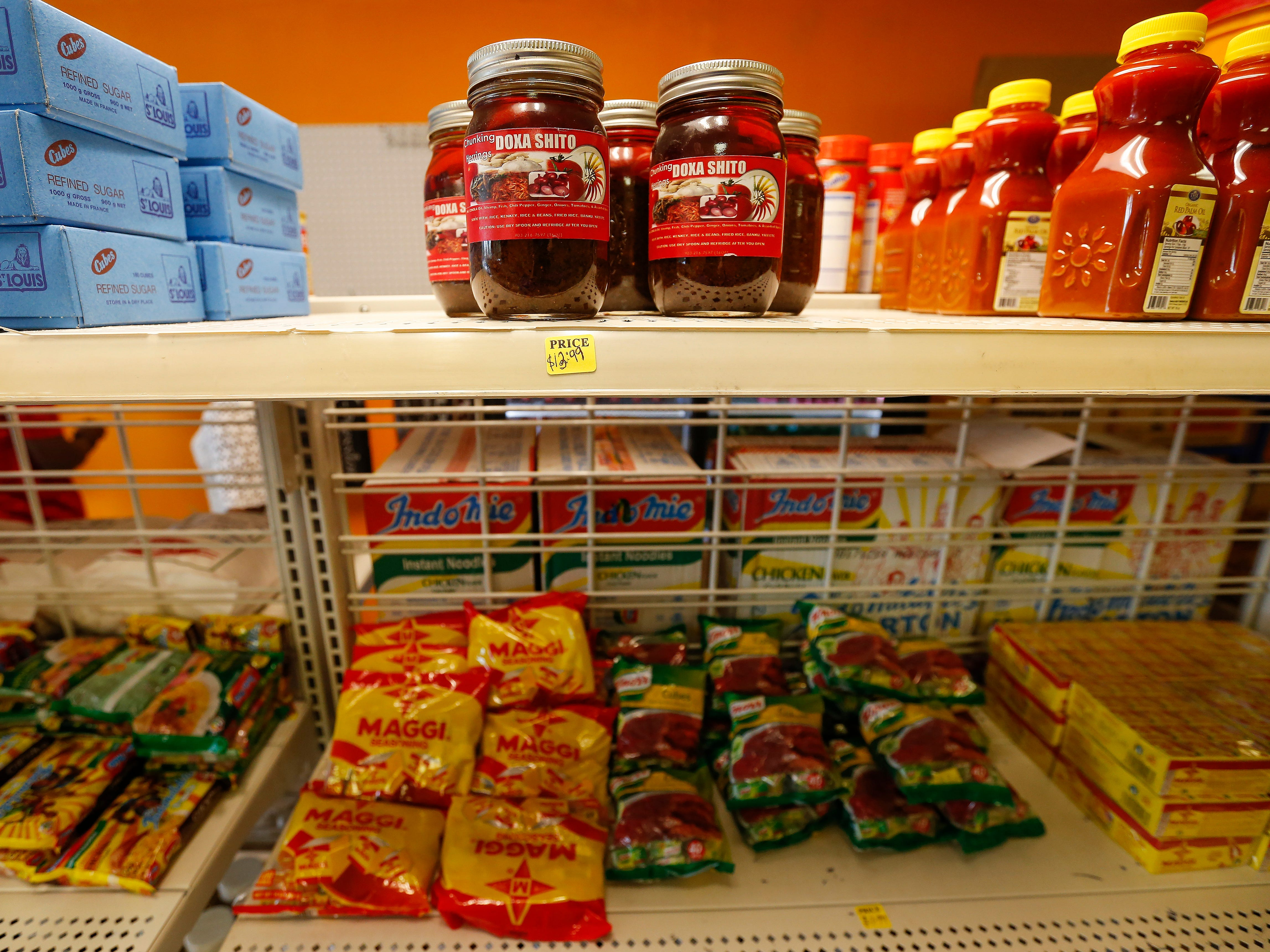 Jums African Market offers a wide variety of African food items. The market is located at 1410 E. Kearney St.