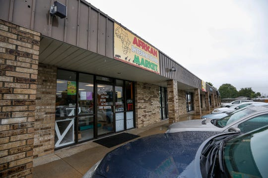 Jums African Market is located at 1410 E. Kearney St.