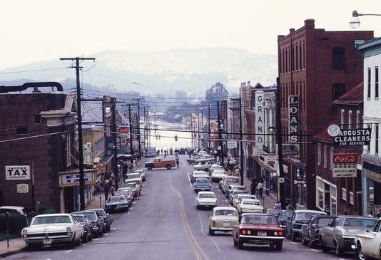 1969 Downtown Waynesboro Flood