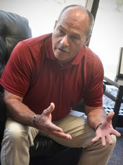 State Rep. Jeff Howe will face Joe Perske in a special election for the state senate seat formerly occupied by Lt. Gov. Michelle Fischbach. He is pictured during an interview Tuesday, Sept. 11, in St. Cloud.