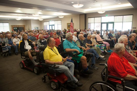 The Southern Utah Veterans Home in Ivins hosted a Patriot Day ceremony Sept. 11, 2018.