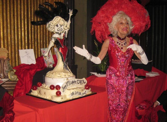 Carol Channing At Her 90th Birthday