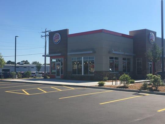 The new Stevens Point Burger King restaurant at 5431 U.S. 10 E.