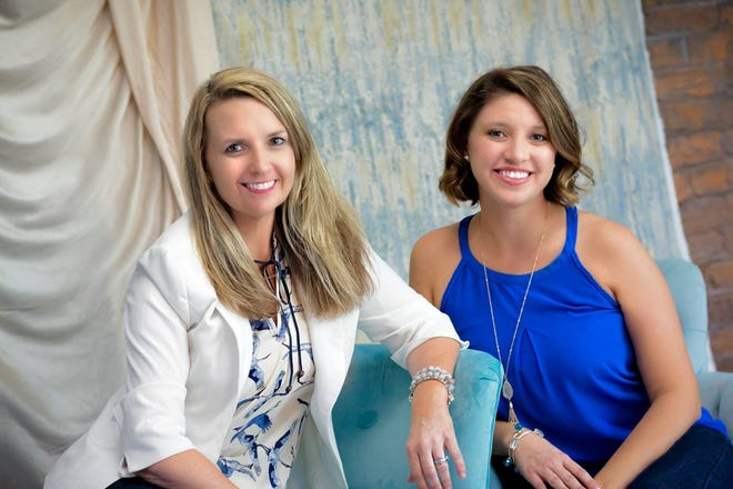 Hang Tough Foundation co-founders Michelle Hart and Janelle Irwin.