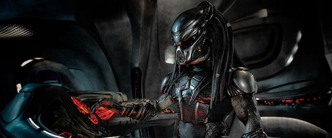 """The Predator"" reboot opens at local theaters on Friday."