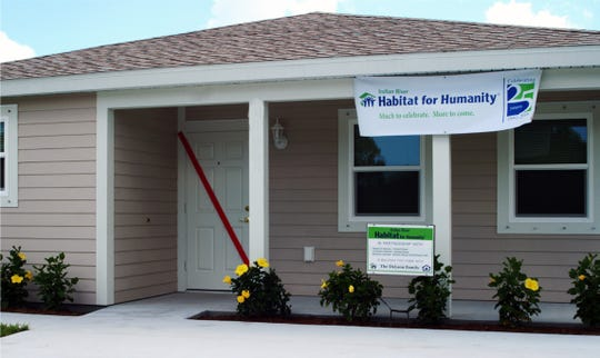 Melissa Arduini and her four sons moved into a new home in Vero Beach, thanks to the South Florida PGA Foundation and the Indian River Habitat for Humanity.