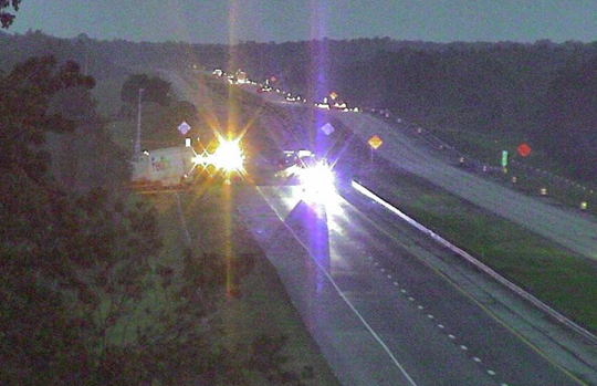 Fatal crash blocking southbound Turnpike north of State Road 60 Sept. 11, 2018.