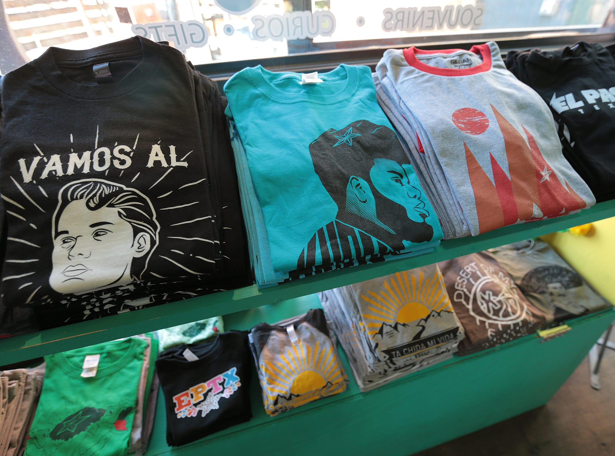 Chuco Relic sells a wide variety of original, locally produced t-shirts including a Khalid t-shirt.