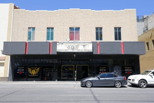 "This building at 209 Texas Ave., occupied by the Lion's Den fitness center, was sold for $335,000 during a bankruptcy court hearing Tuesday. It is part of William ""Billy"" Abraham's bankruptcy cases."