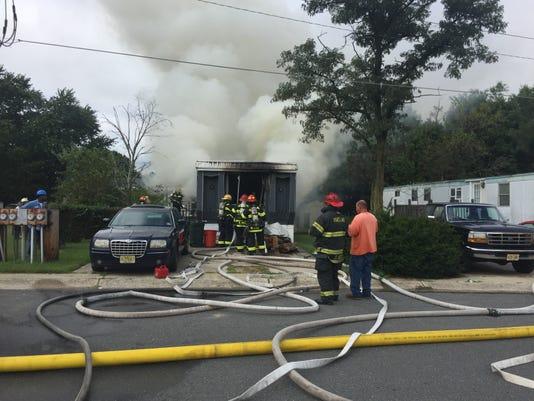 Redwood Court fire