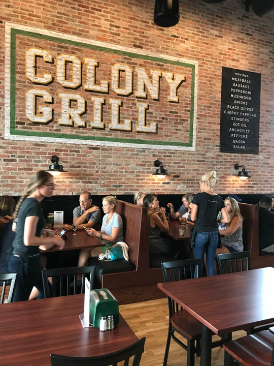 The Colony Grill in Port Chester. Photographed July 2018.