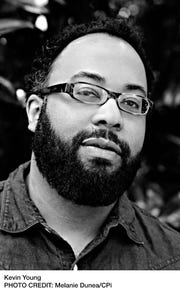 Poet and author Kevin Young will be the featured speaker at Purchase College's Durst Distinguished Lecture Series, Sept. 24.