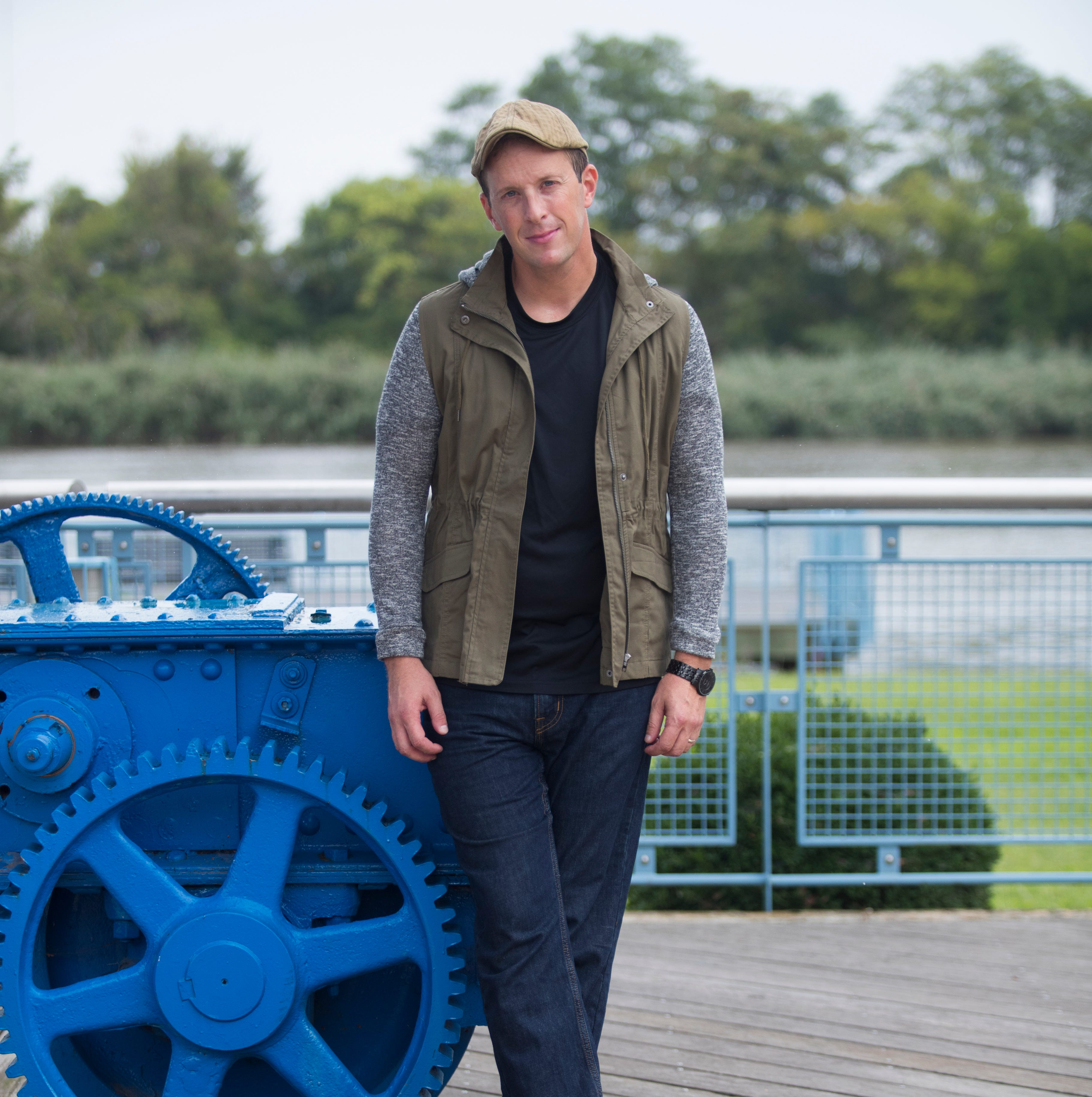 This Delaware actor calls his style 'urban surfer'