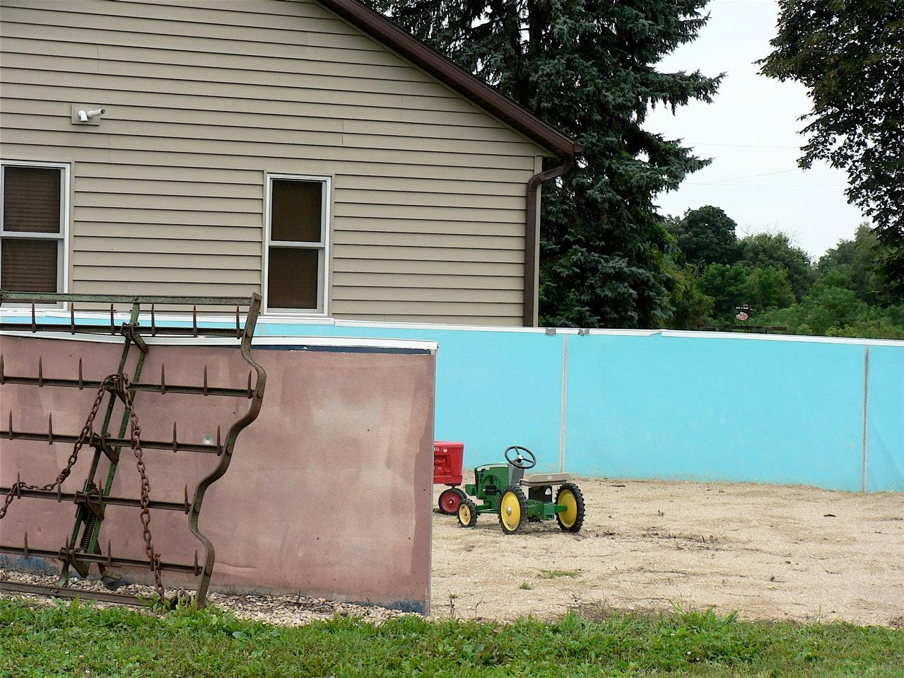 """The  """"construction digging zone for kids"""" will soon  be ready."""