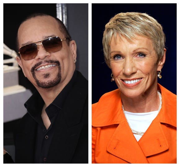 Ice-T and Barbara Corcoran