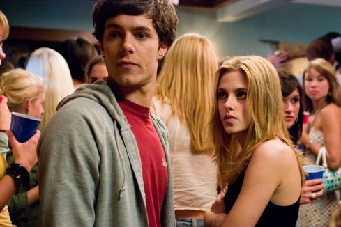 """Adam Brody is the older object of affection for a teen girl played by Kristen Stewart in 2007's """"In the Land of Women."""""""