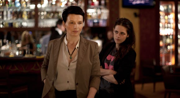 """Juliette Binoche (left) is an A-list actress wrestling with a new project and Kristen Stewart is her assistant in """"Clouds of Sils Maria."""""""