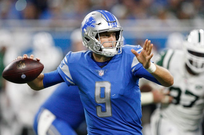 The New York Jets say they knew all about Matthew Stafford and the Lions heading into Monday Night Football.